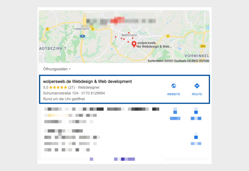 google business eintrag webdesign düsseldorf
