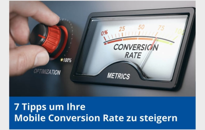 mobile conversion rate steigern