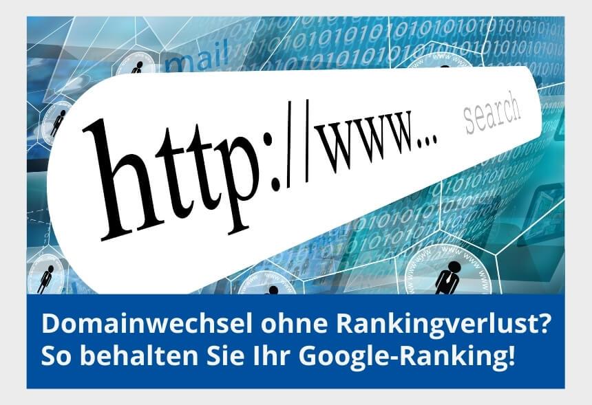 domainwechsel ohne ranking verlust